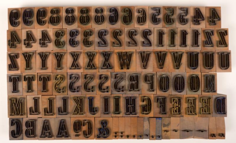 Exportstempel: cijfers en letters