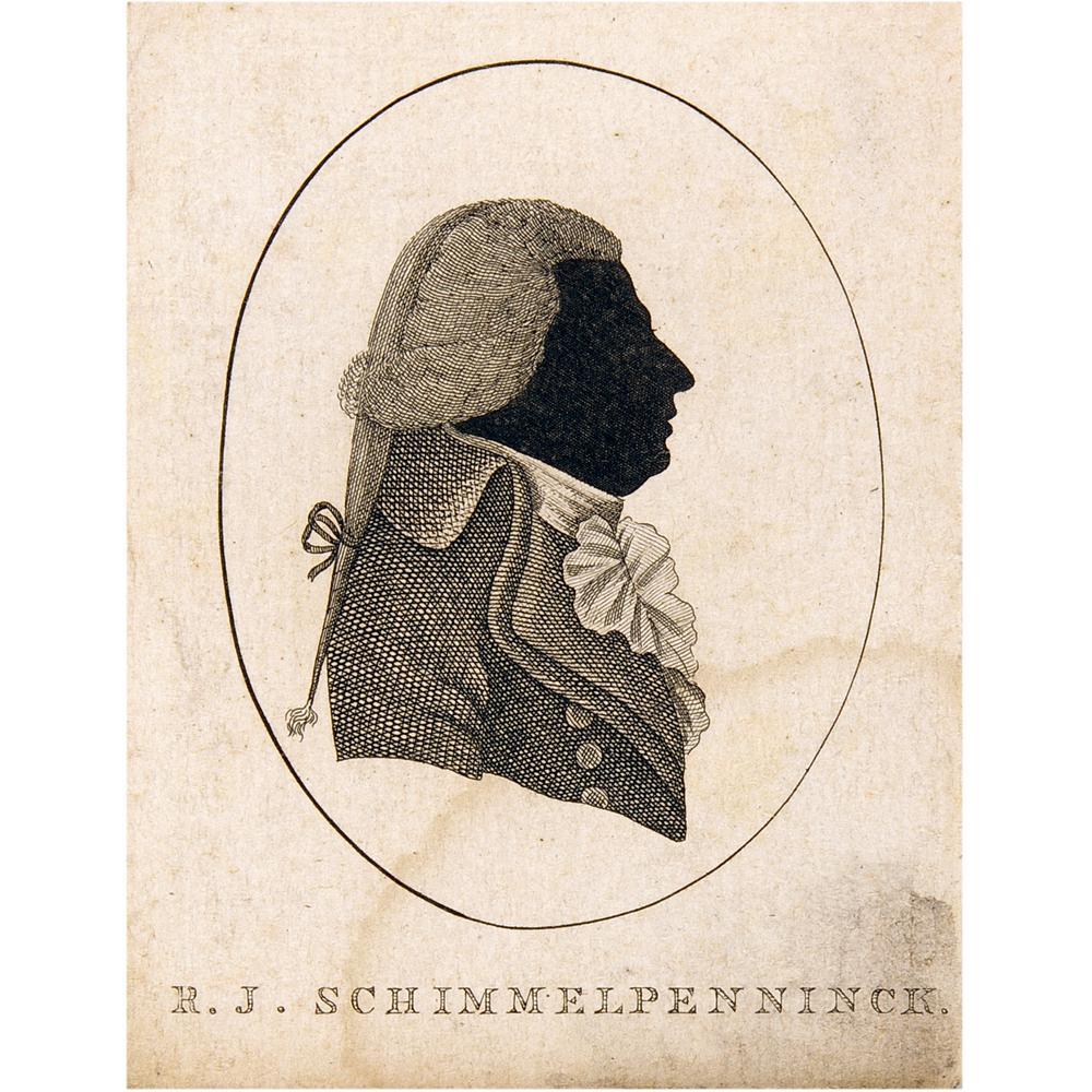 Gravure: Portret van Rutger Jan Schimmelpenninck