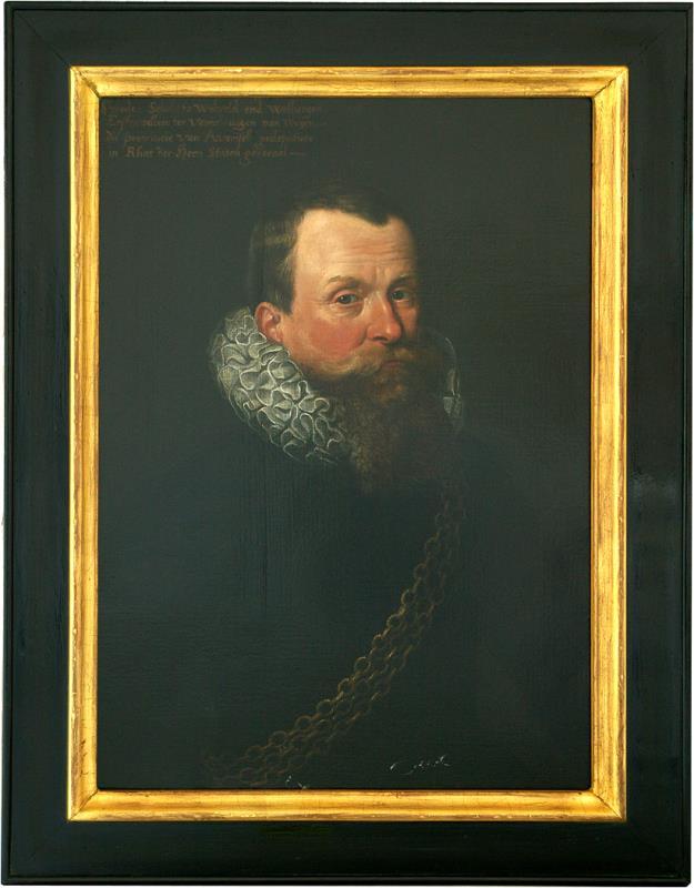 Schilderij: portret Sweder Schele van Weleveld en Welbergen (1569-1525)