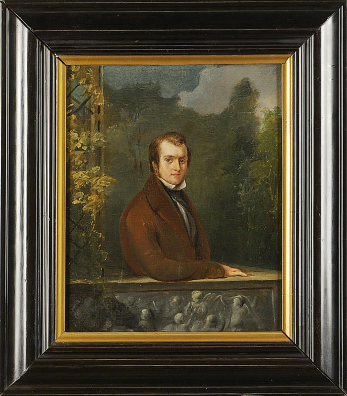 Schilderij: portret Herman Gijsbert Blijdenstein