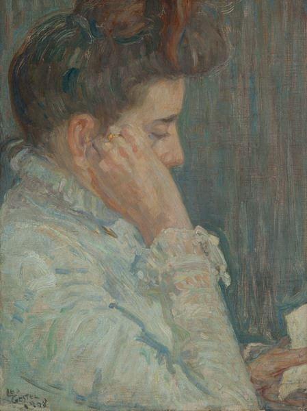 Portret van Anna Maria Gestel