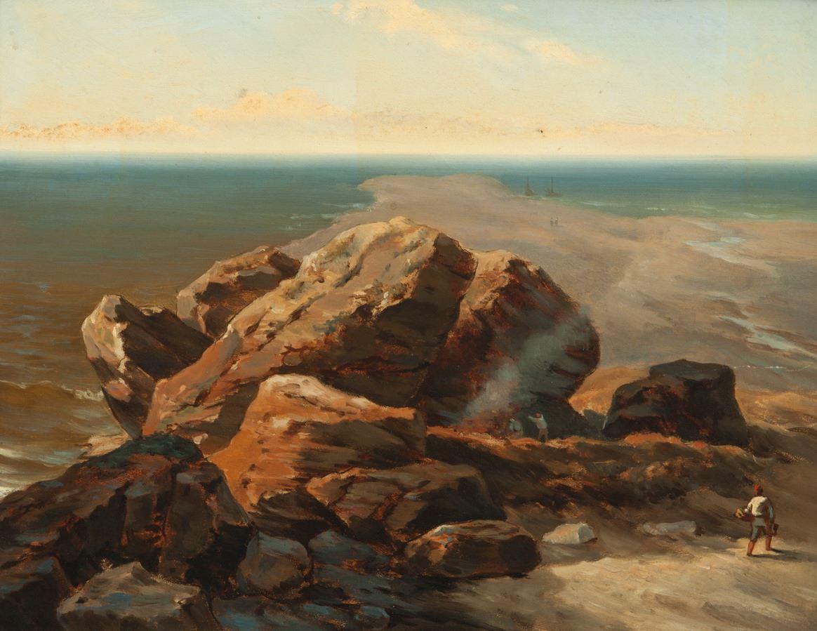 Rotsen voor de kust