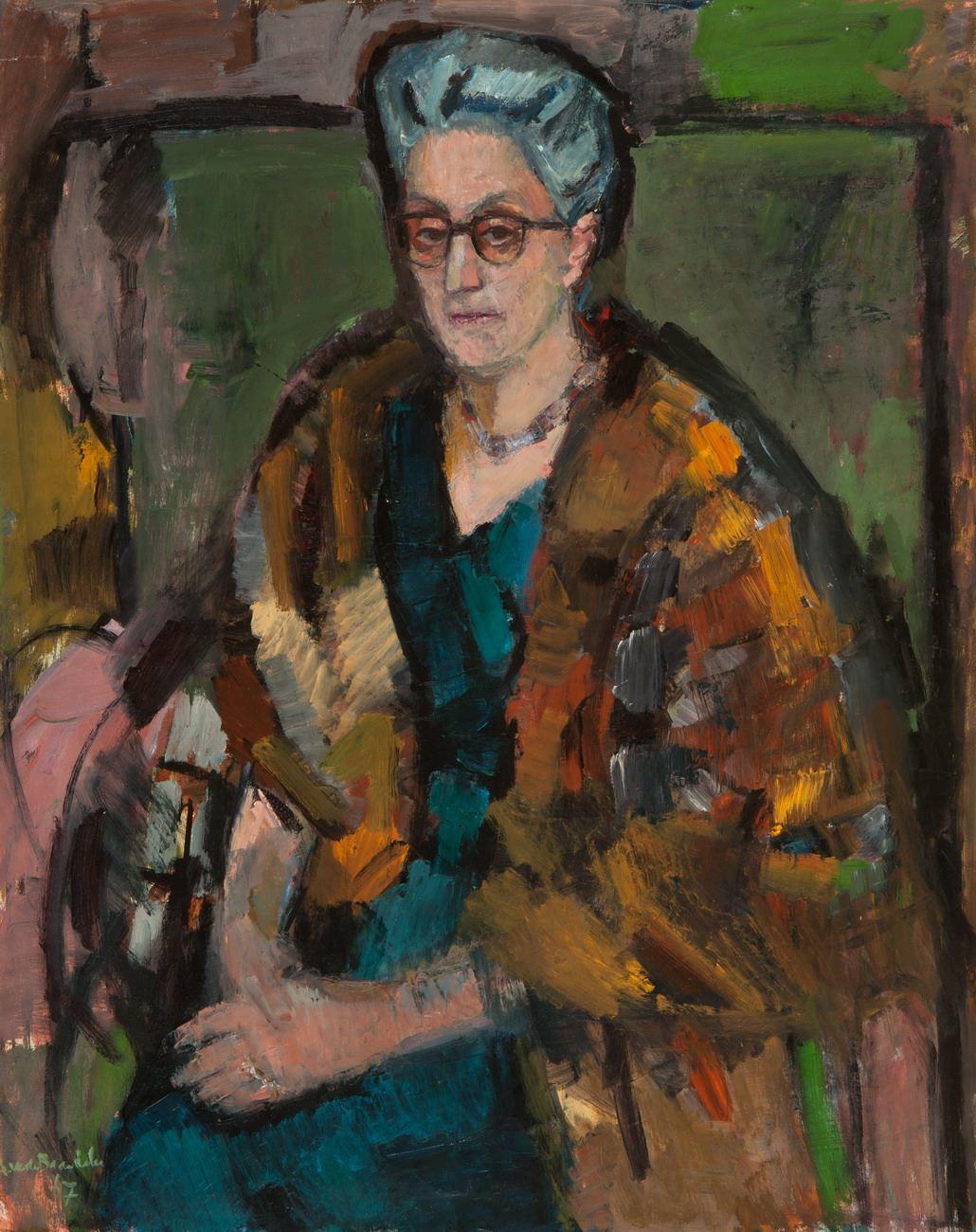 Portret II mevrouw Van Pallandt-Del Court van Krimpen.