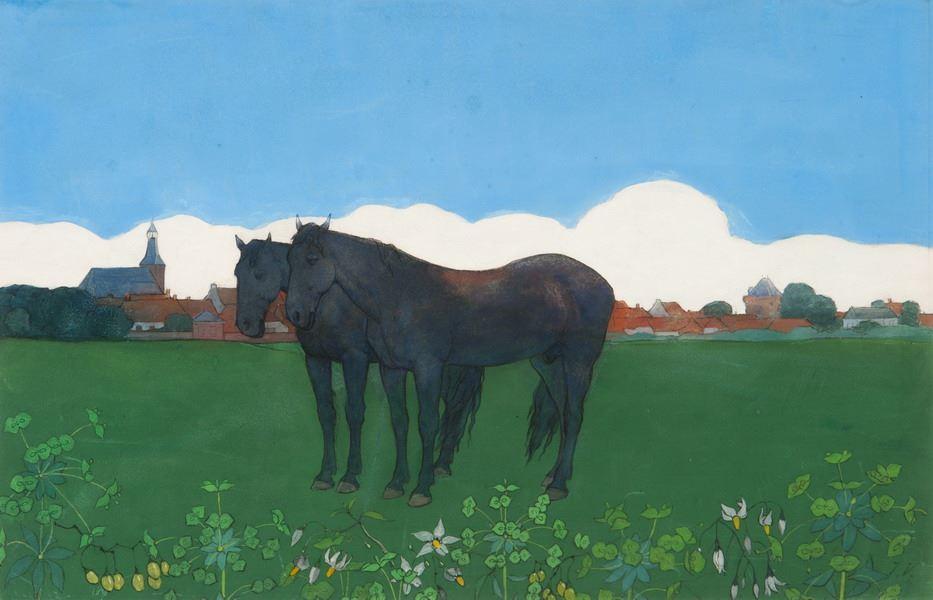 Twee paarden voor Hattem