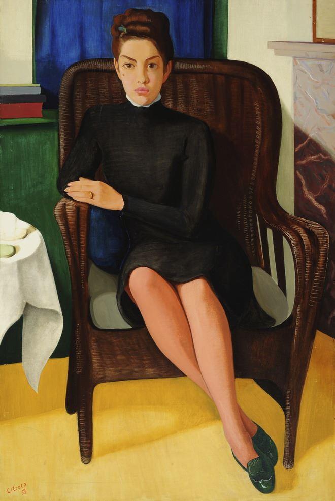 Portret van Corry Mühlenfeld