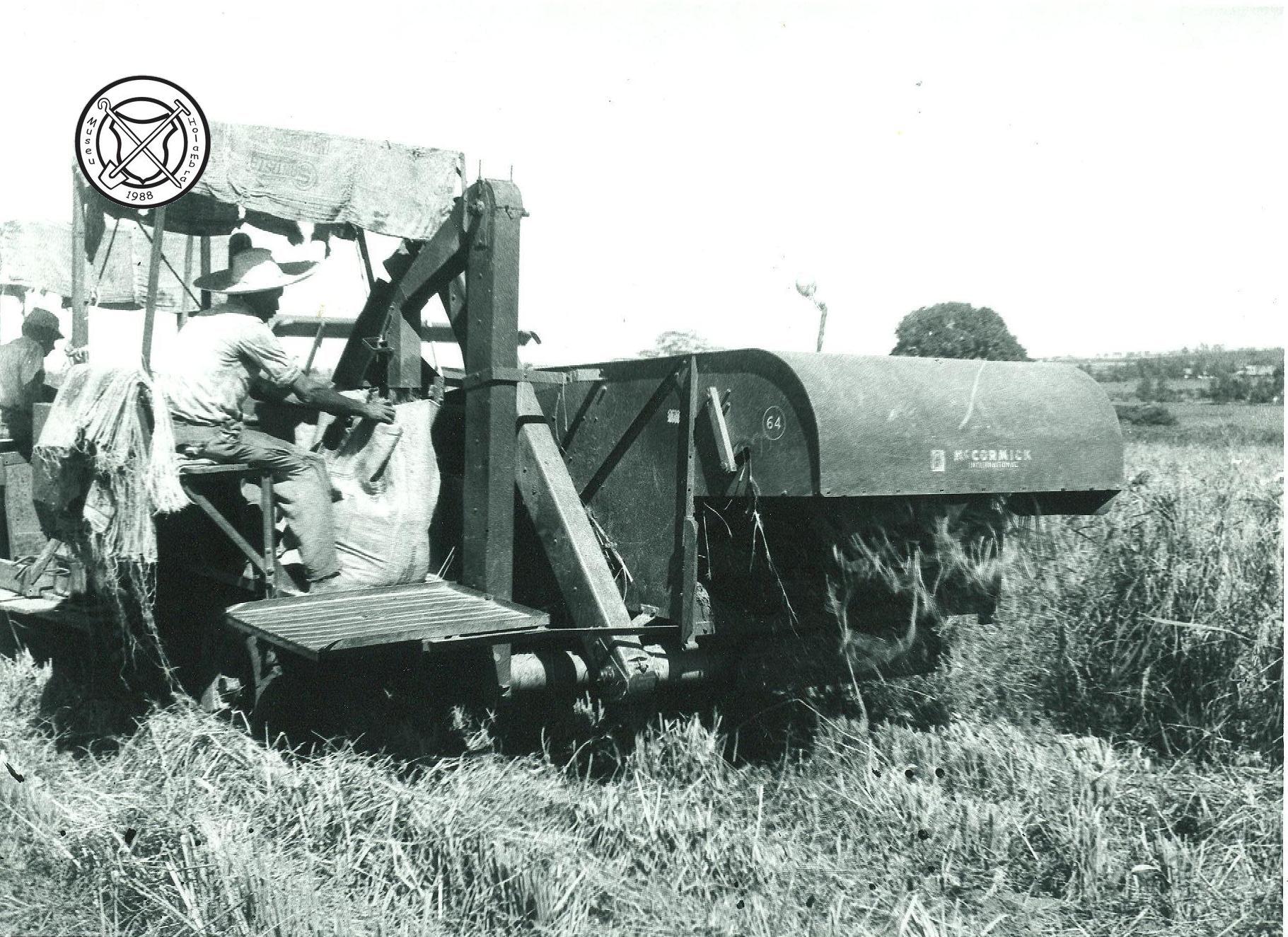 Rijstoogstmachine