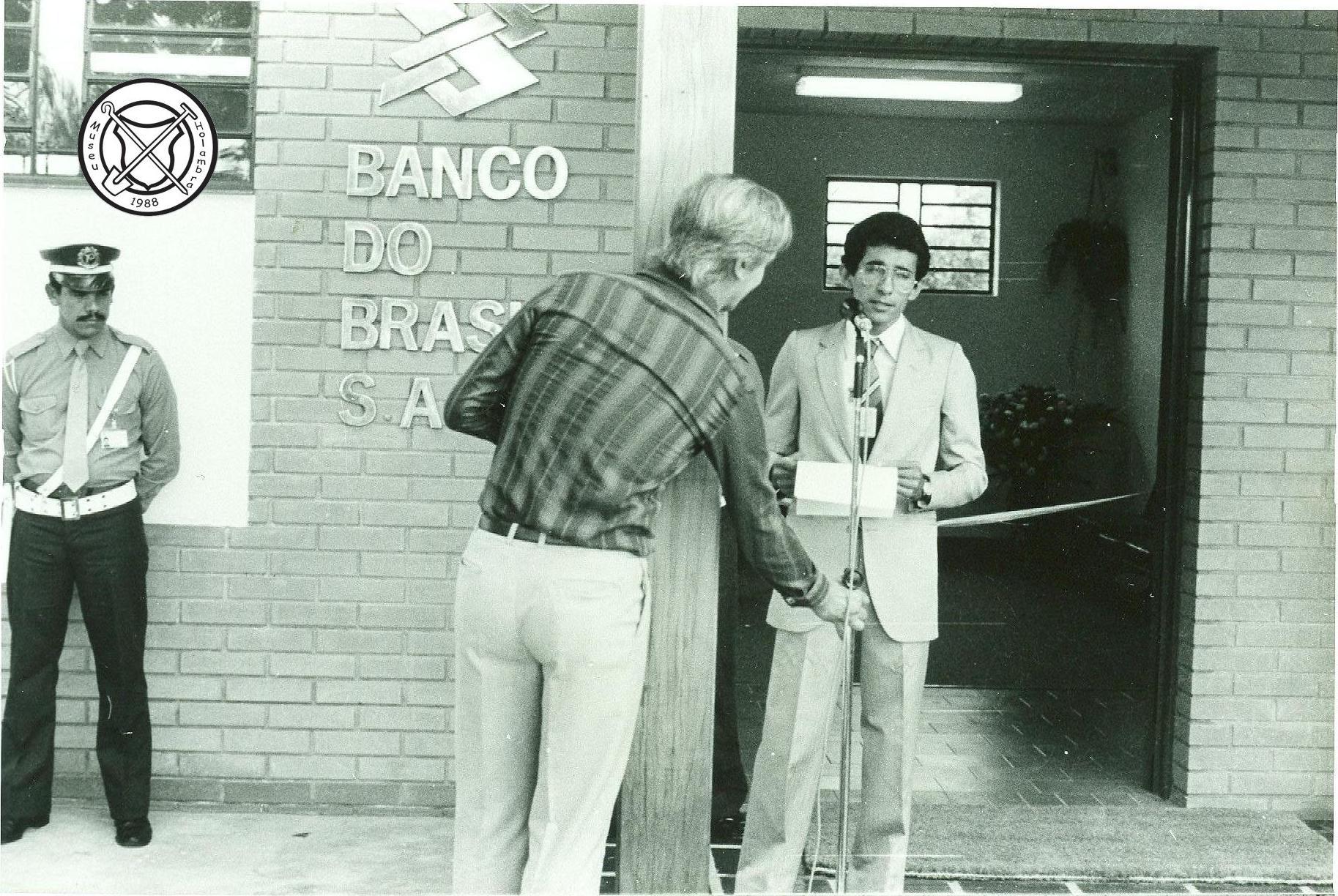 Feestelijke opening van de Banco do Brasil