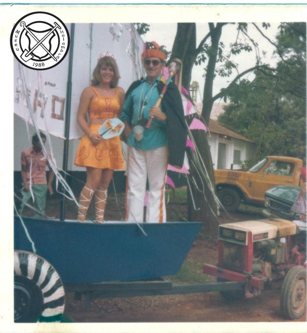 Prins Carnaval en de Prinses (Rei Momo en Rainha)