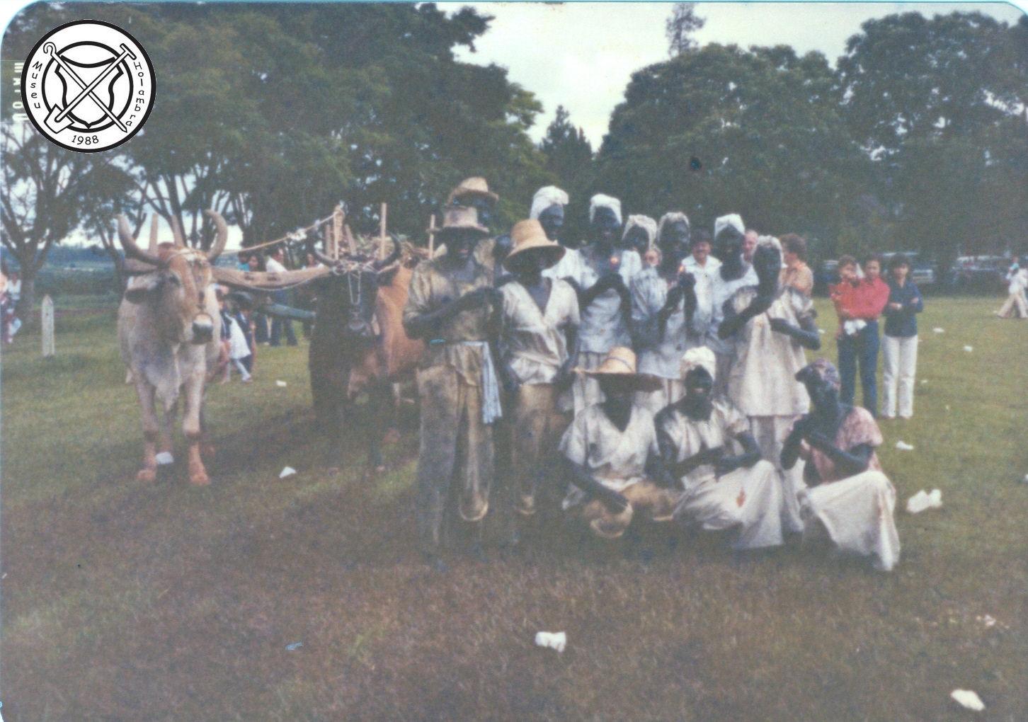 Slaven in de carnavalsoptocht
