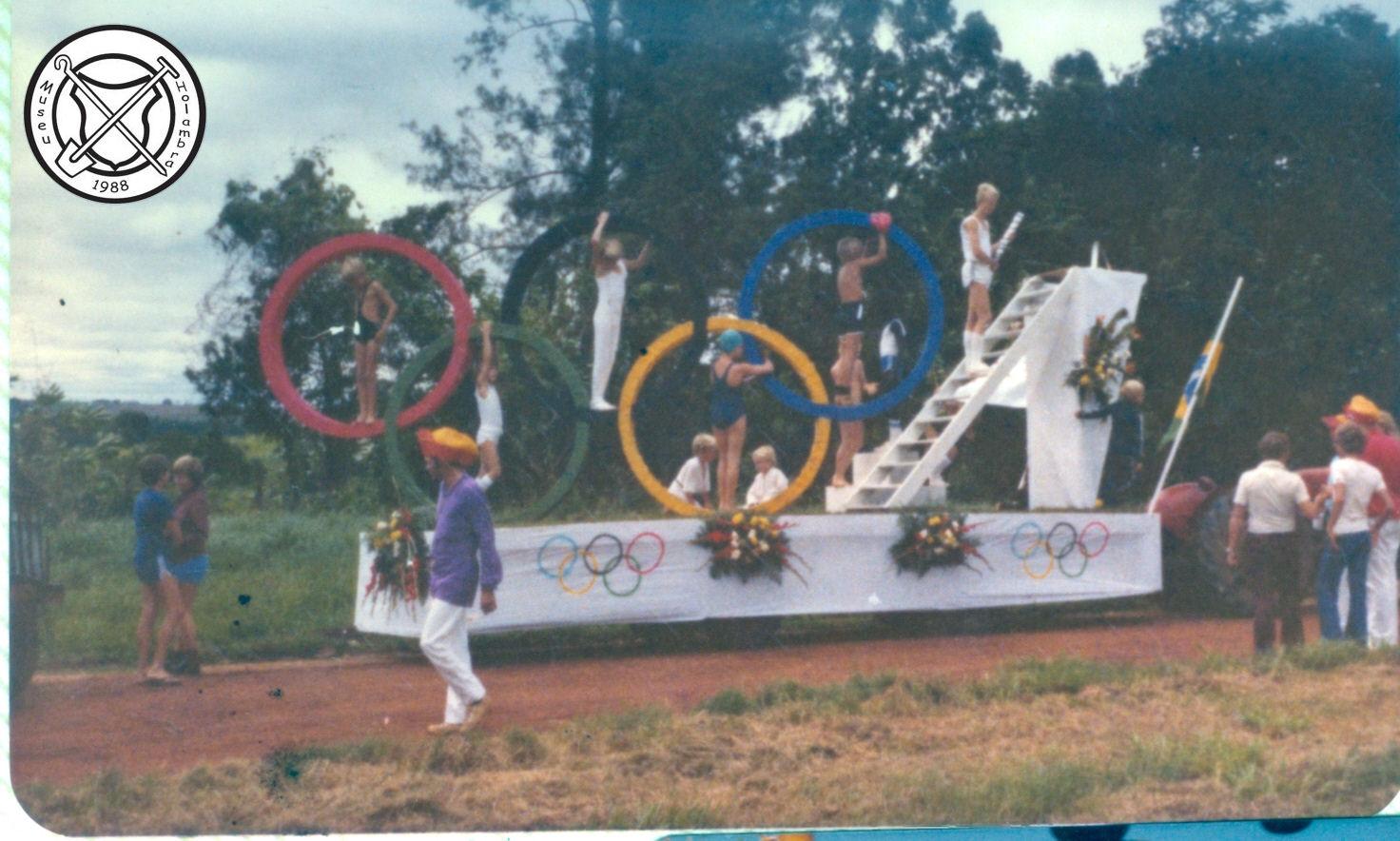 Olympische Spelen in de carnavalsoptocht