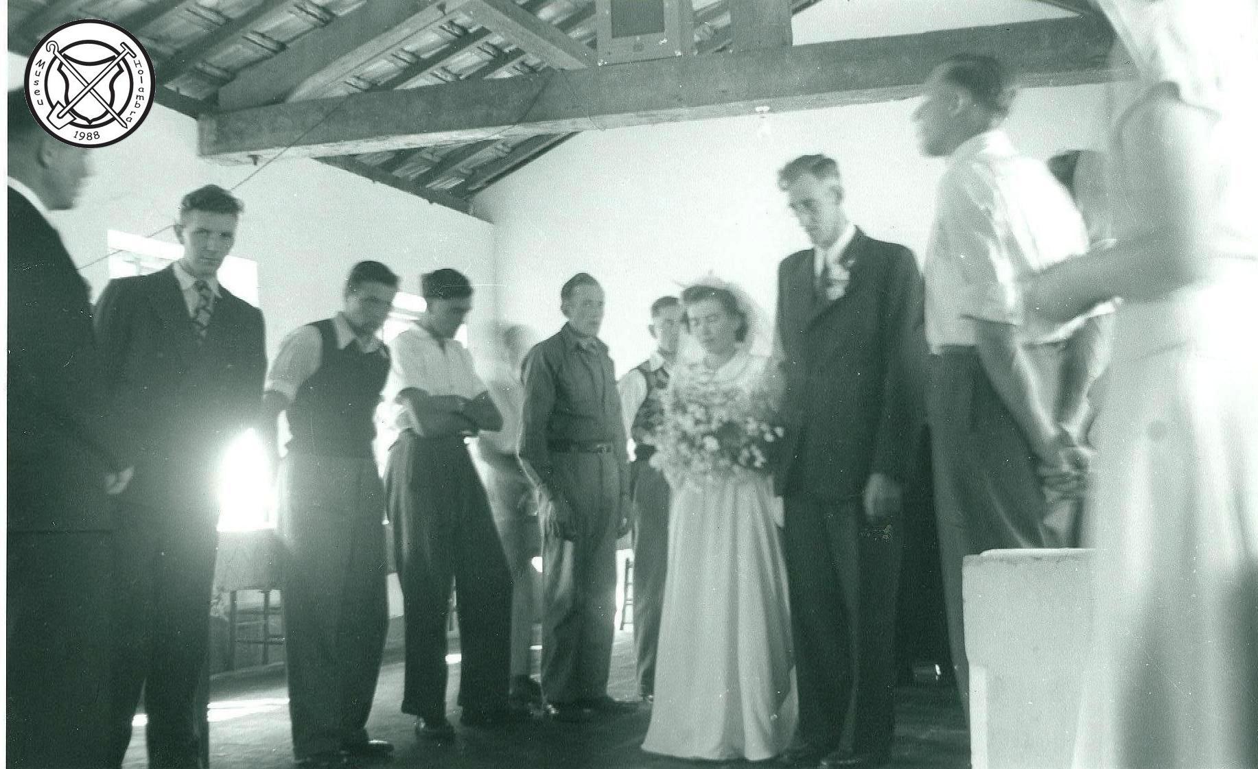 Huwelijk van Wim Miltenburg en Toos van Lieshout
