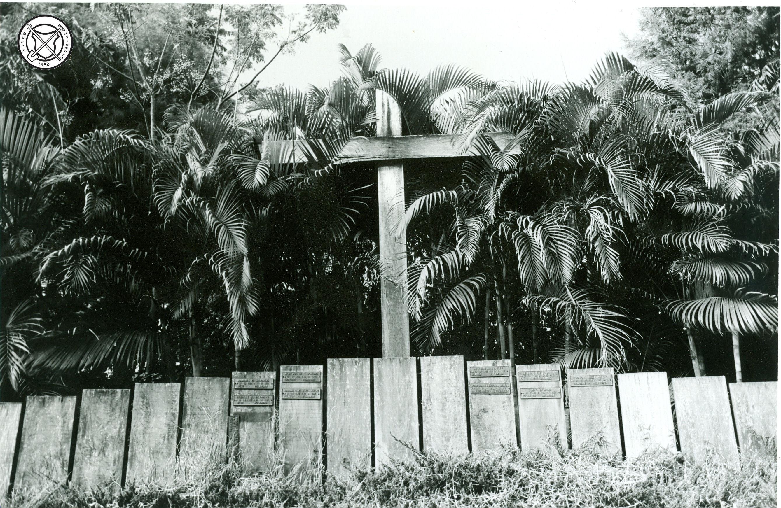 Achtergelegen deel van het kerkhof