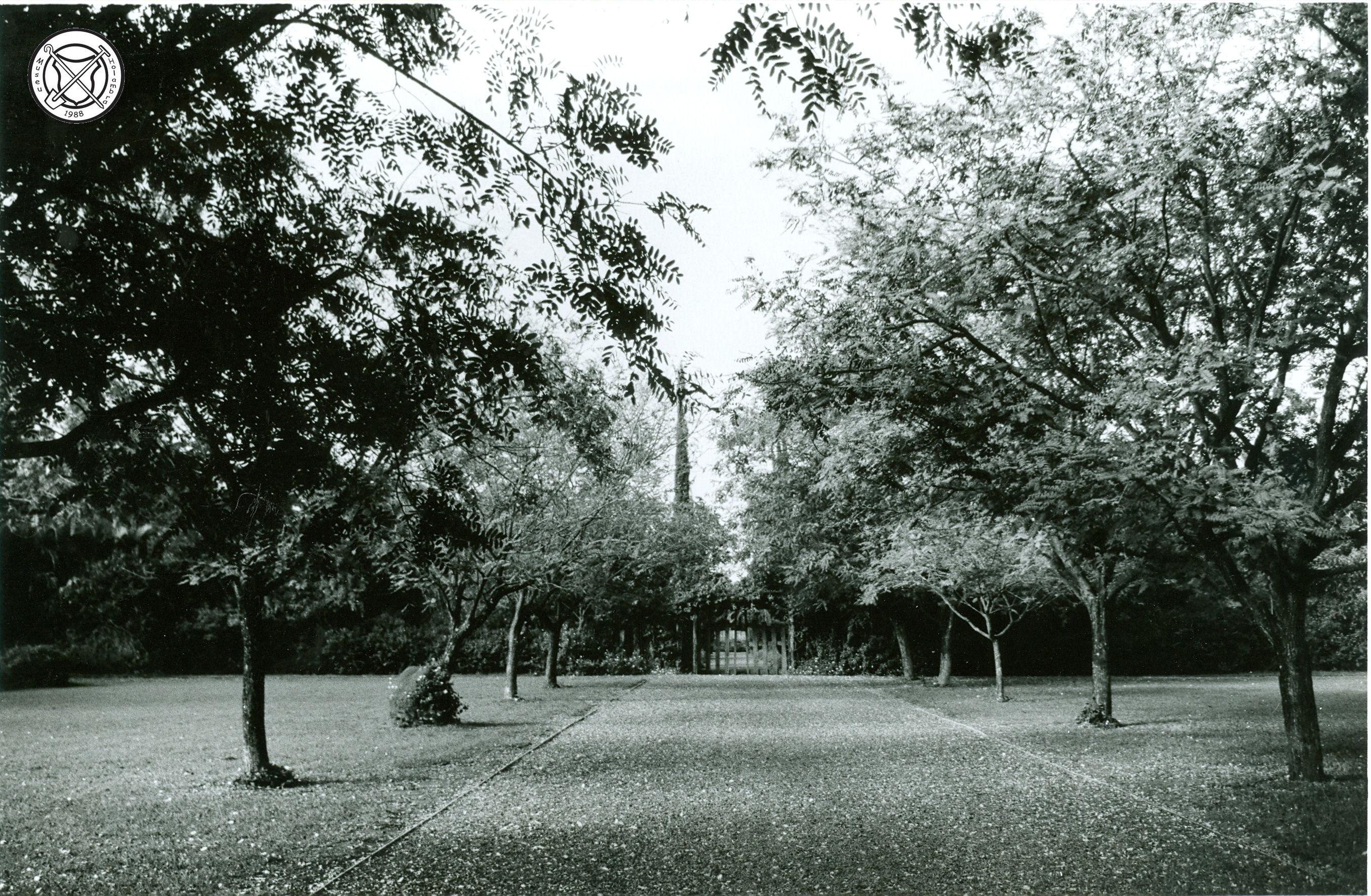 Ingang van het kerkhof