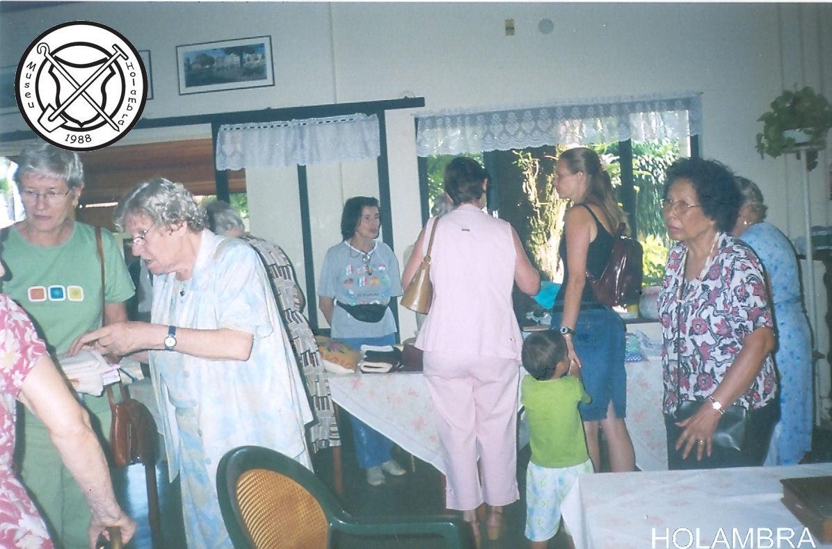 Vlooienmarkt in het Centro Social