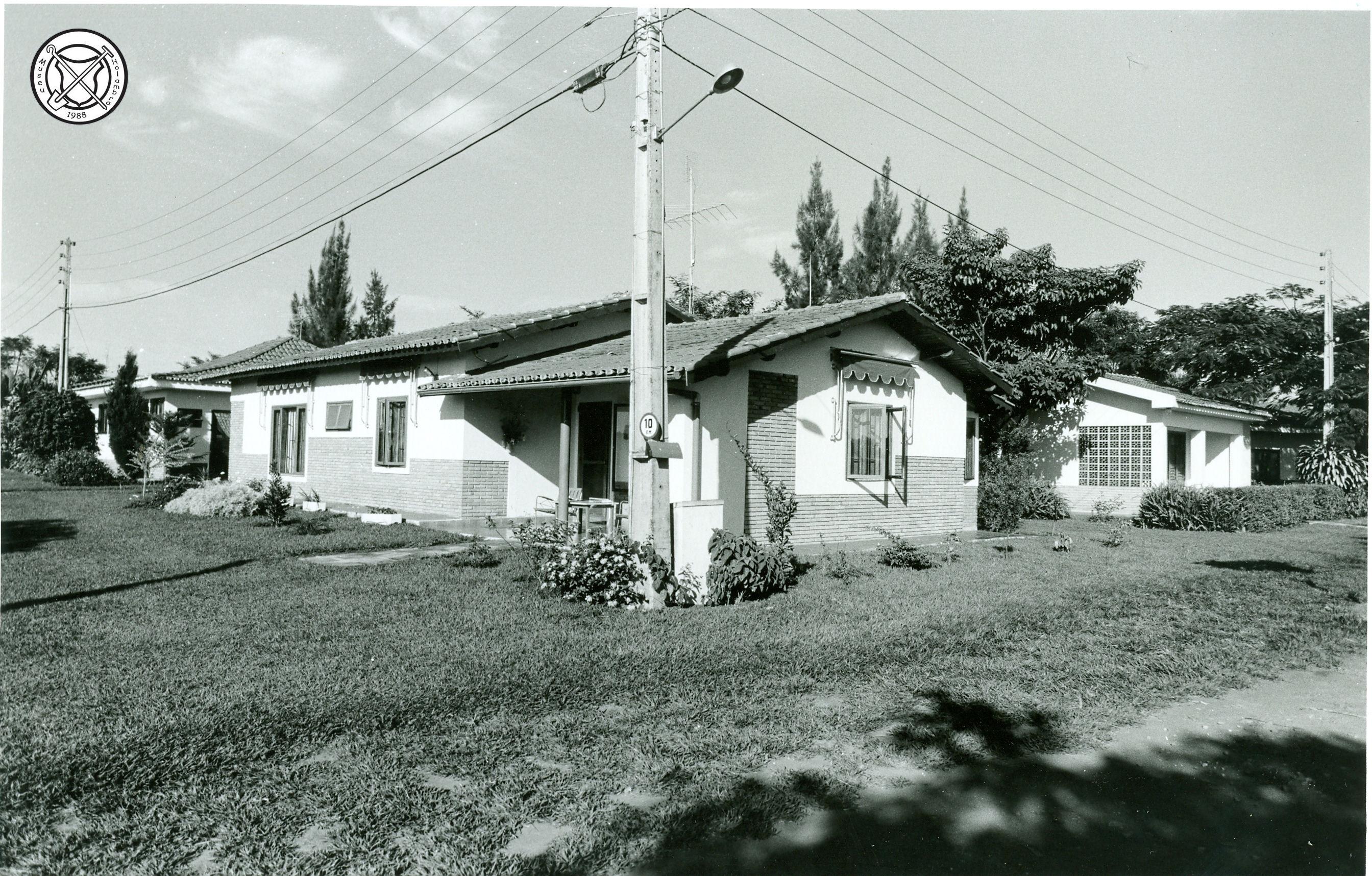Het huis van Ria Cruijsen op het Centro Social