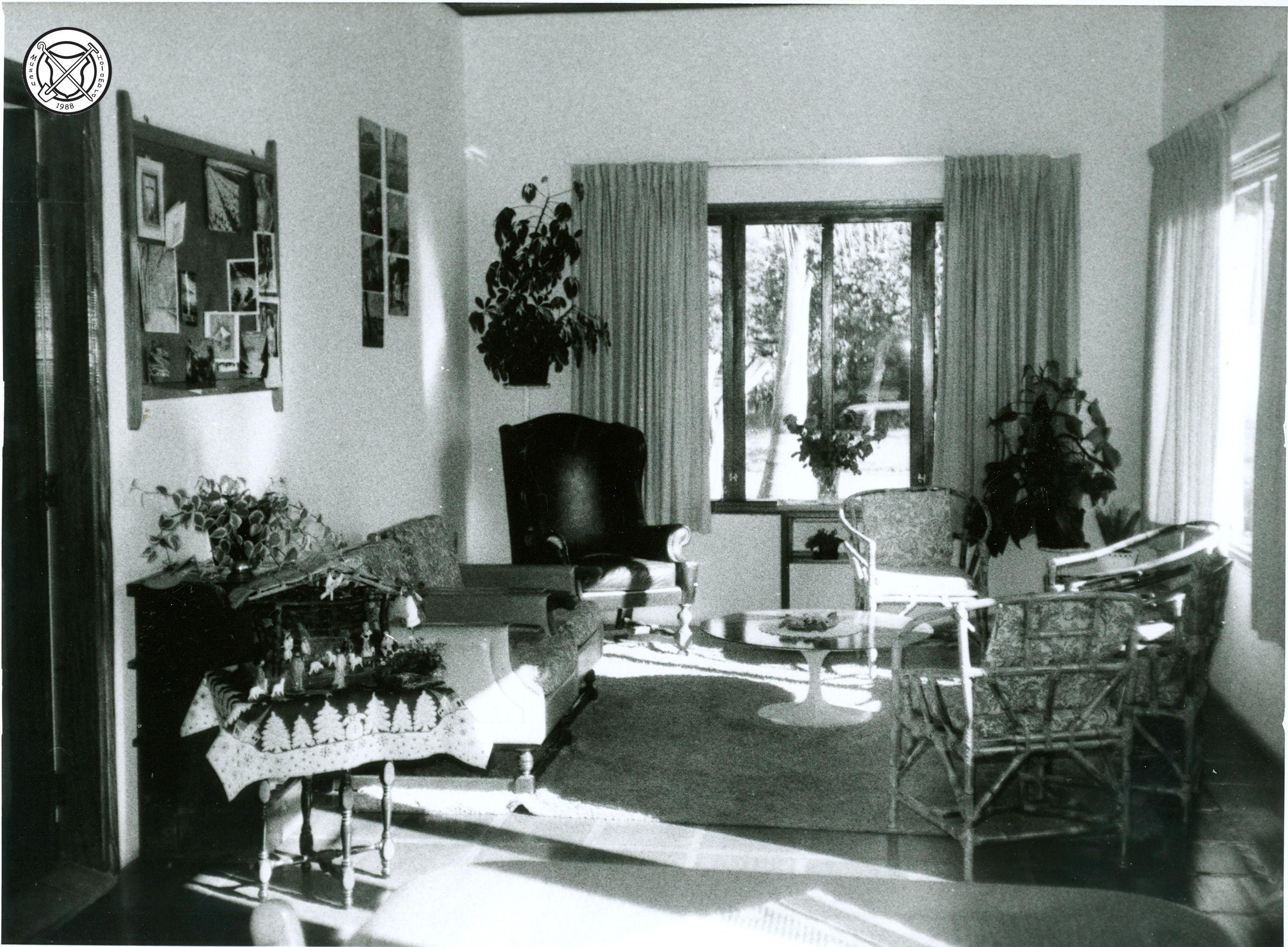 Interieur van het moederhuis op het Centro Social Holandês