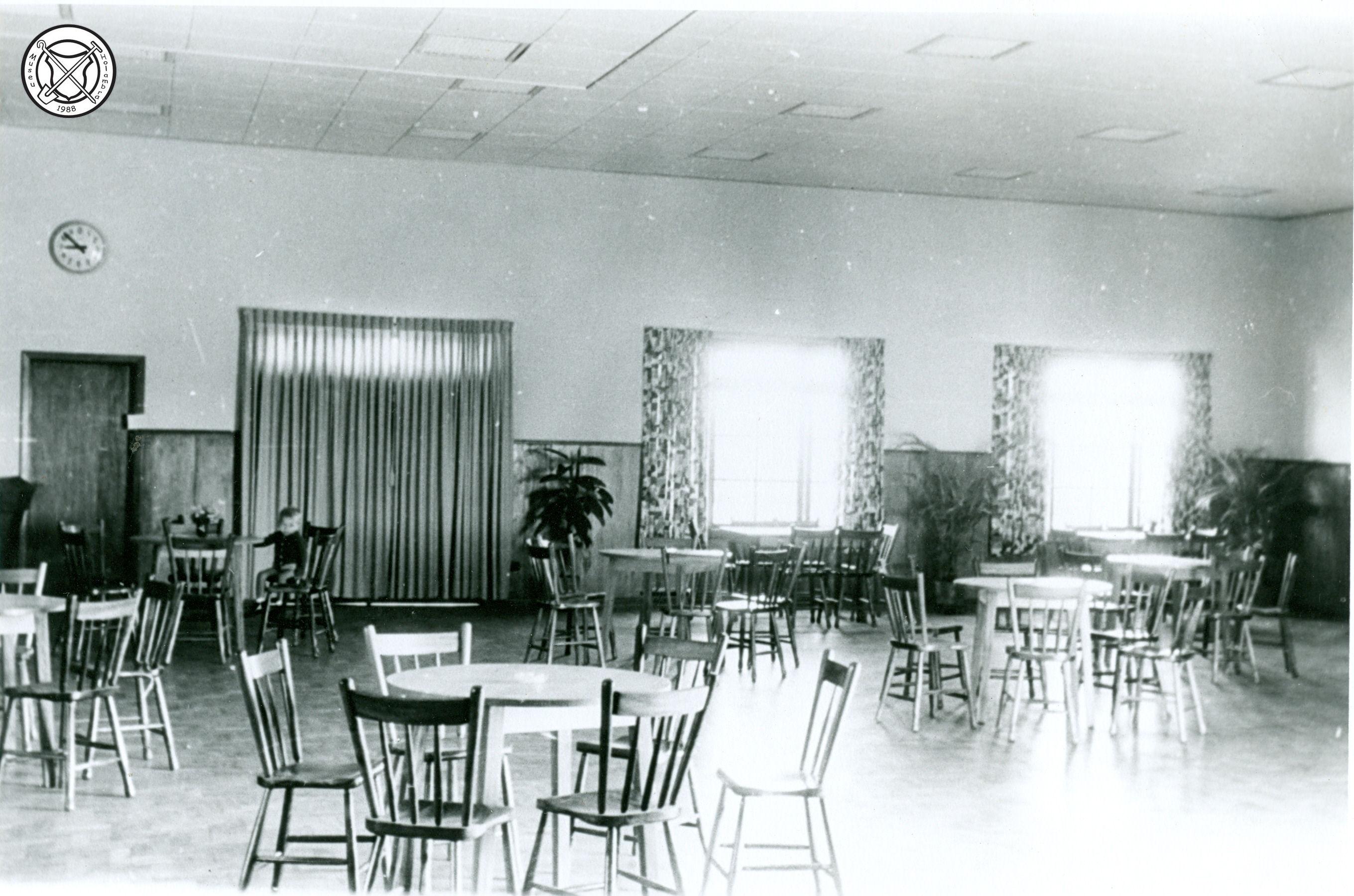 Interieur van de Club