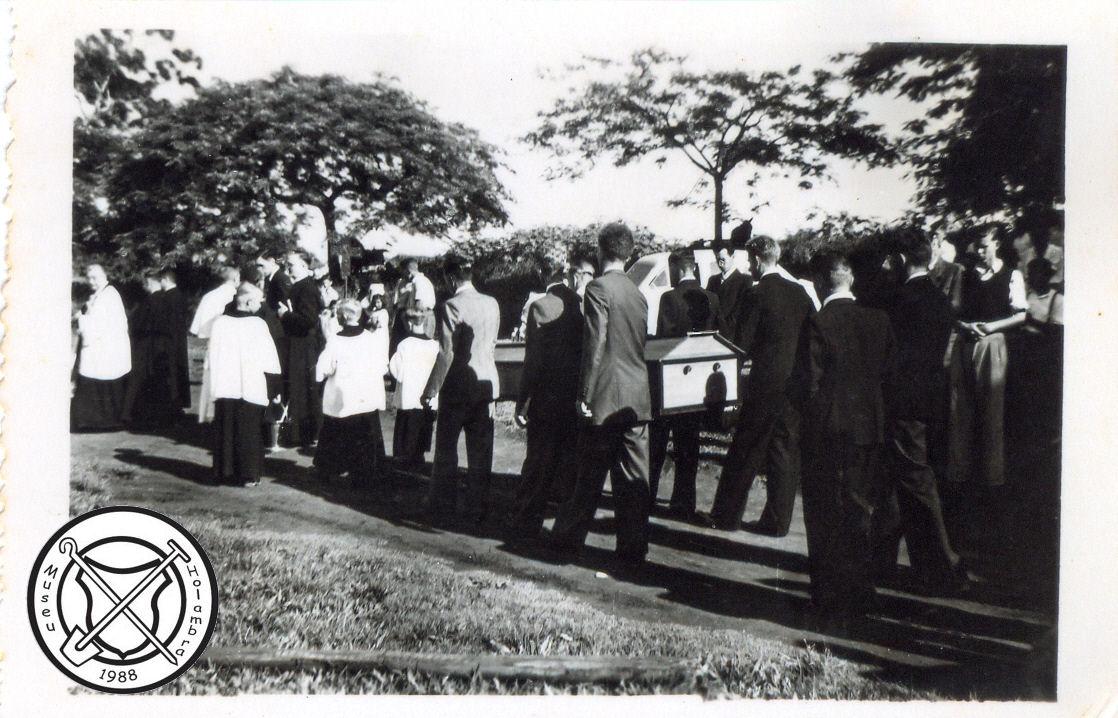 Begrafenis van pater Godfried Sijen