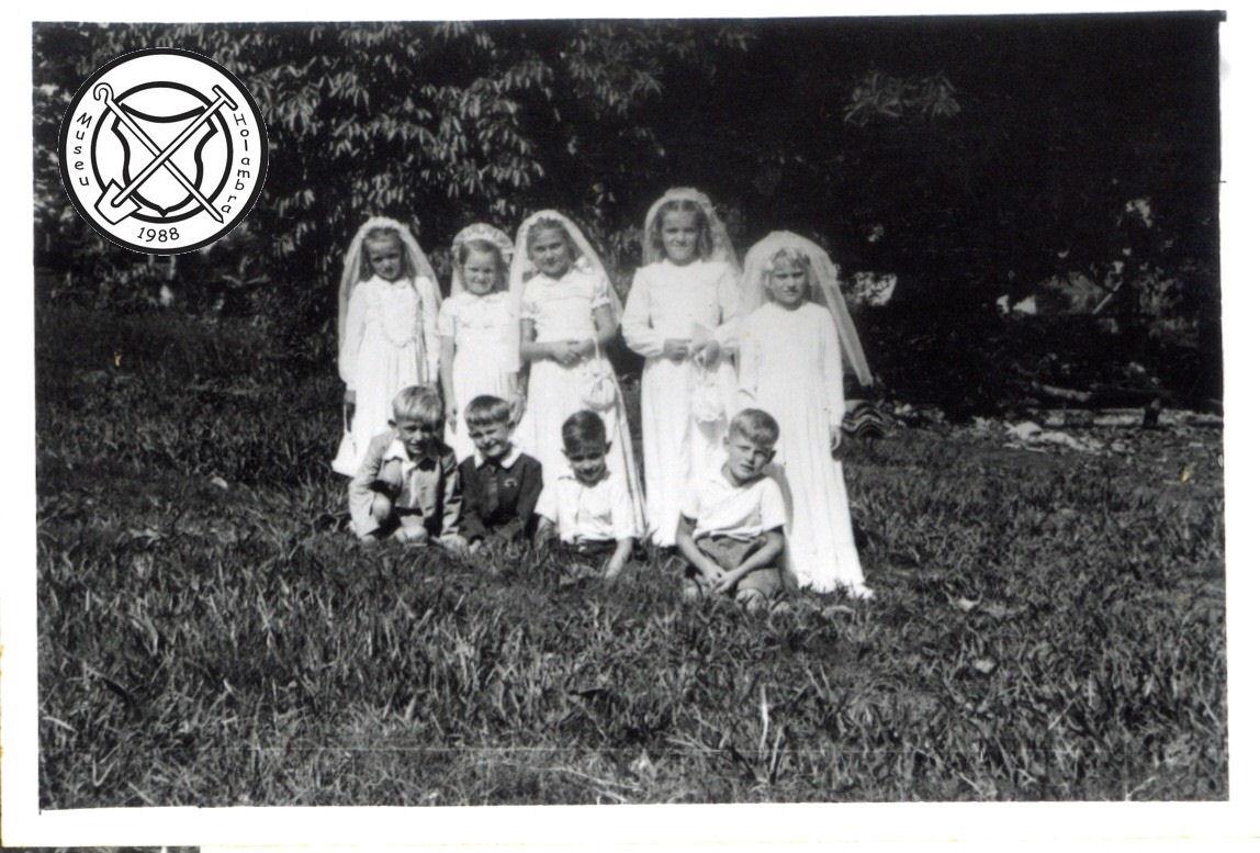 Eerste communie in 1954
