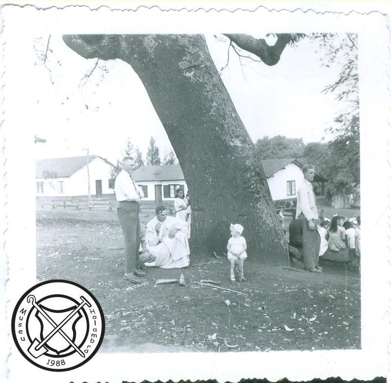 Onder de kapokboom op het fazendaplein