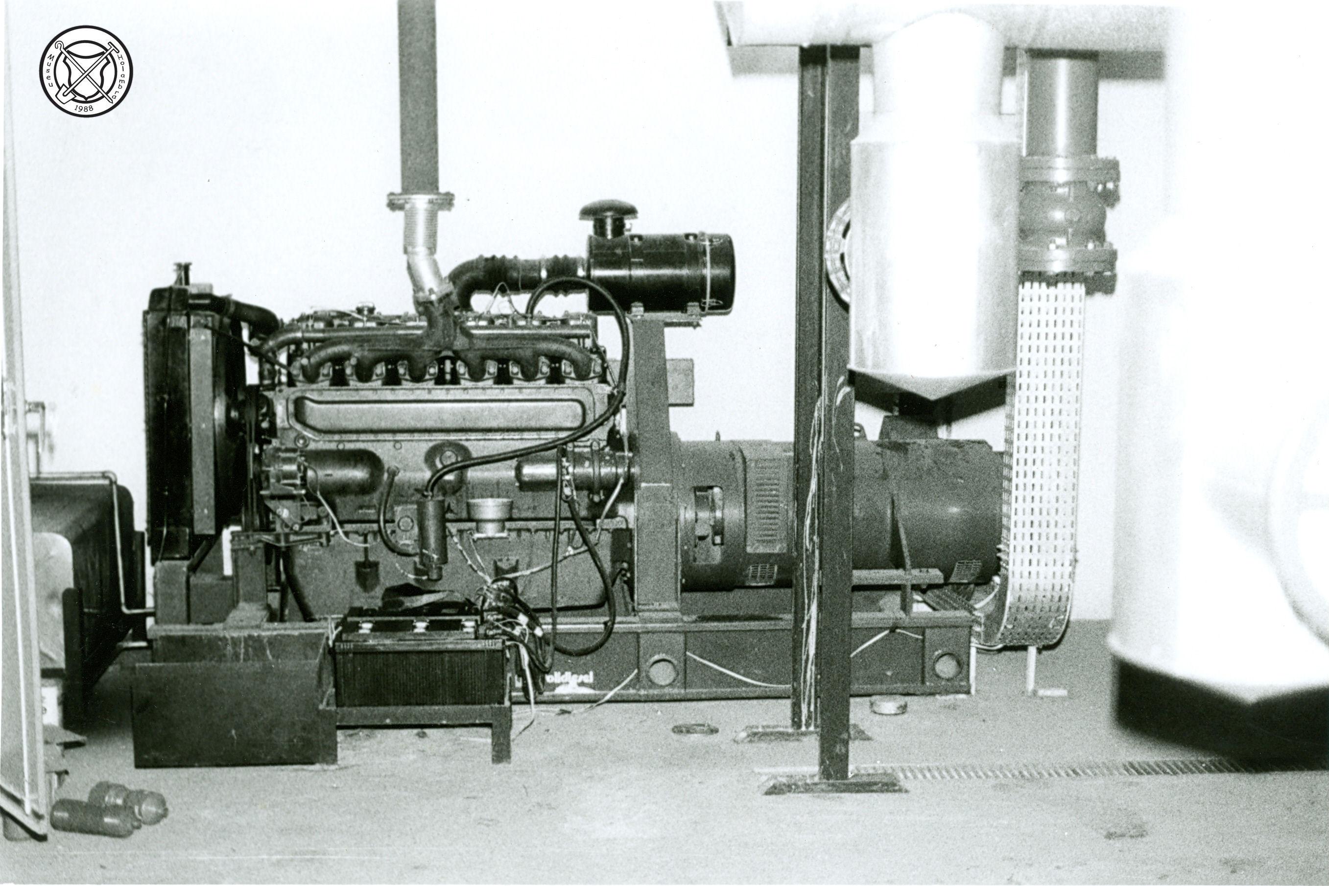 Generator in de kippenslachterij