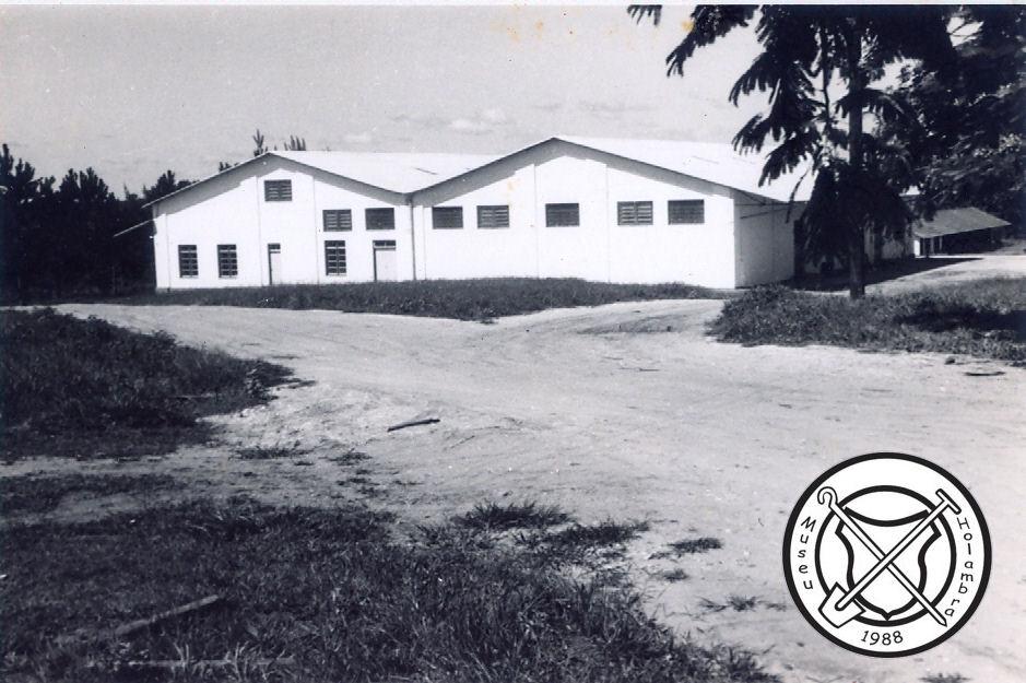 De oude mengvoerfabriek