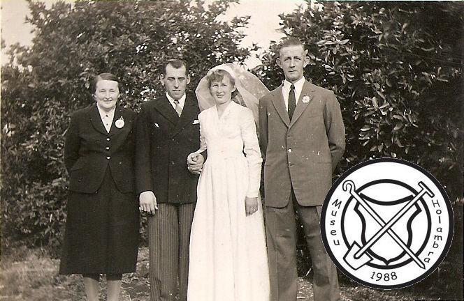 Huwelijk van Louis Peeters en Marietje Scholten