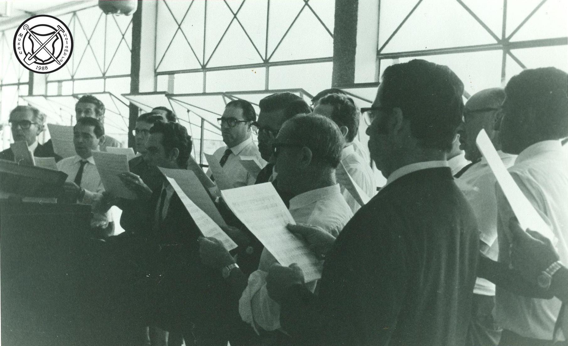 Het koor Pio XII uit Campinas