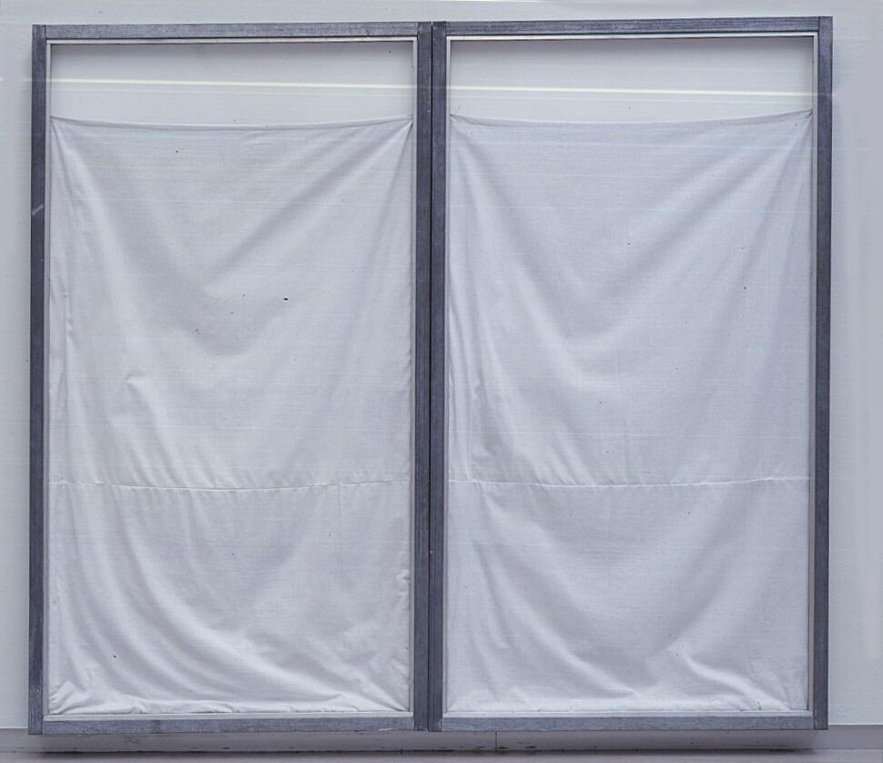 Double show window