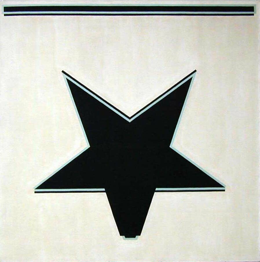 Untitled (White star)