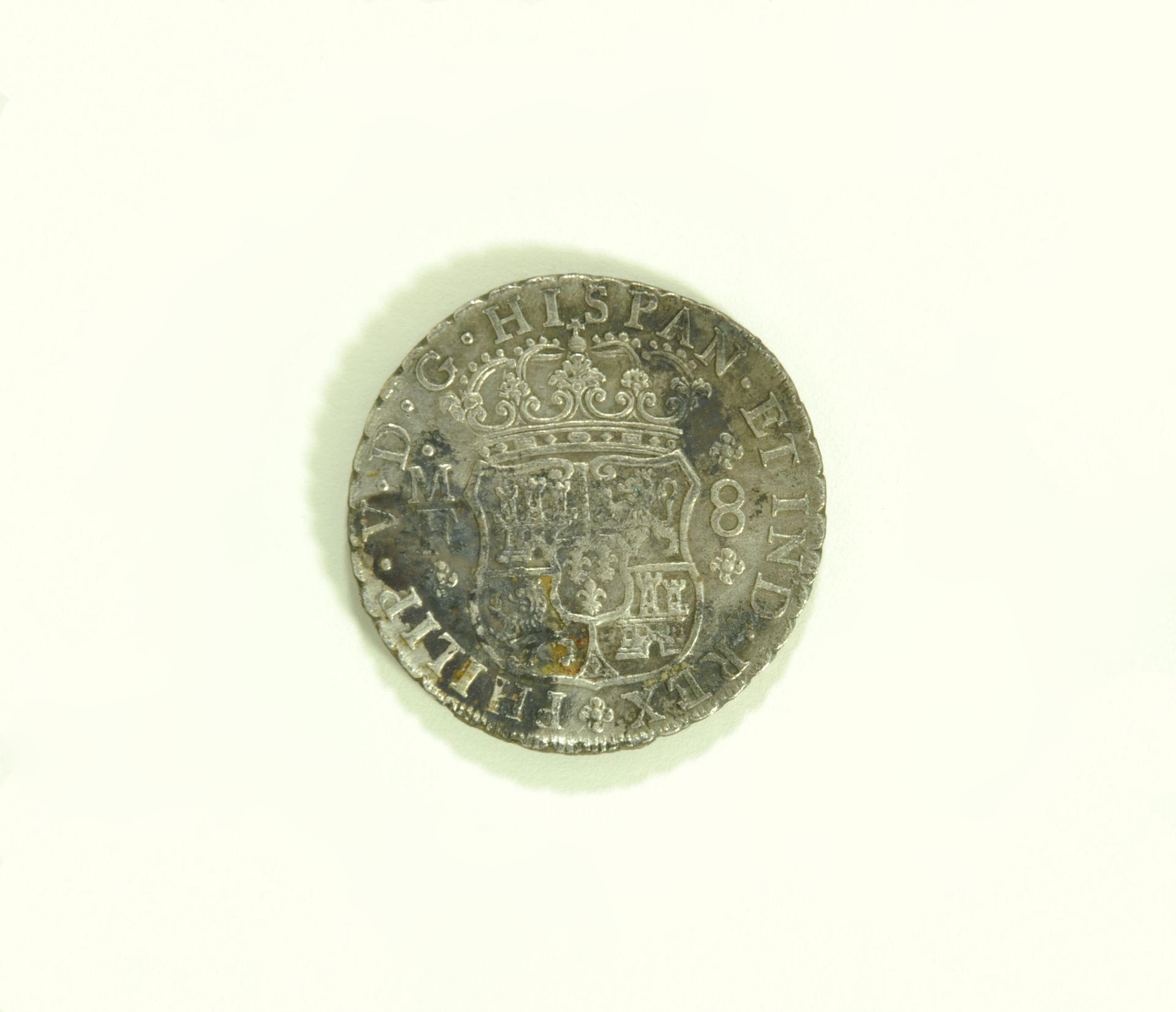 Reaal van 8, 'Pillar Dollar'. Spanje 1737