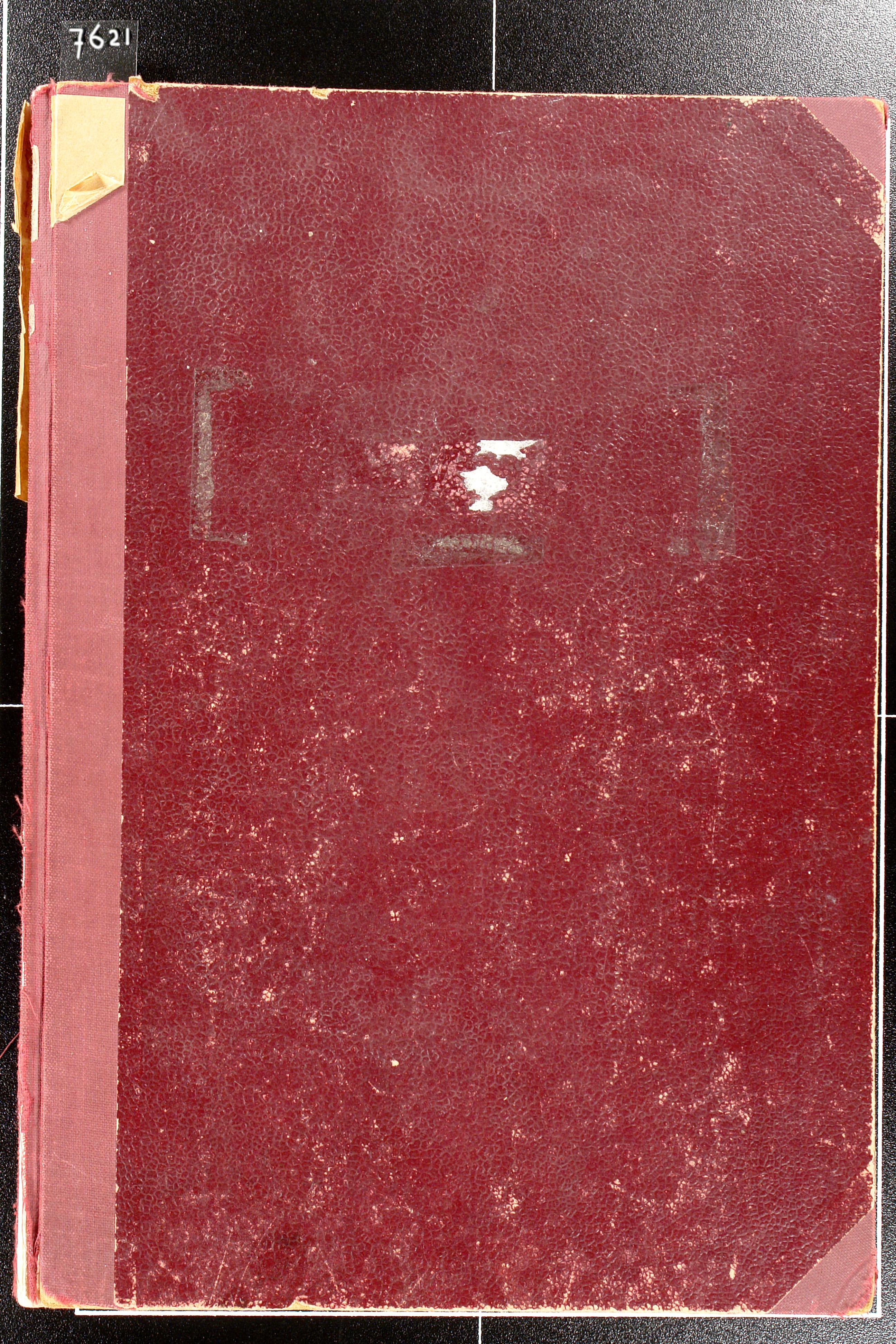 Boek. Voorraadboek voor ethyl alcohol, 1959-1981