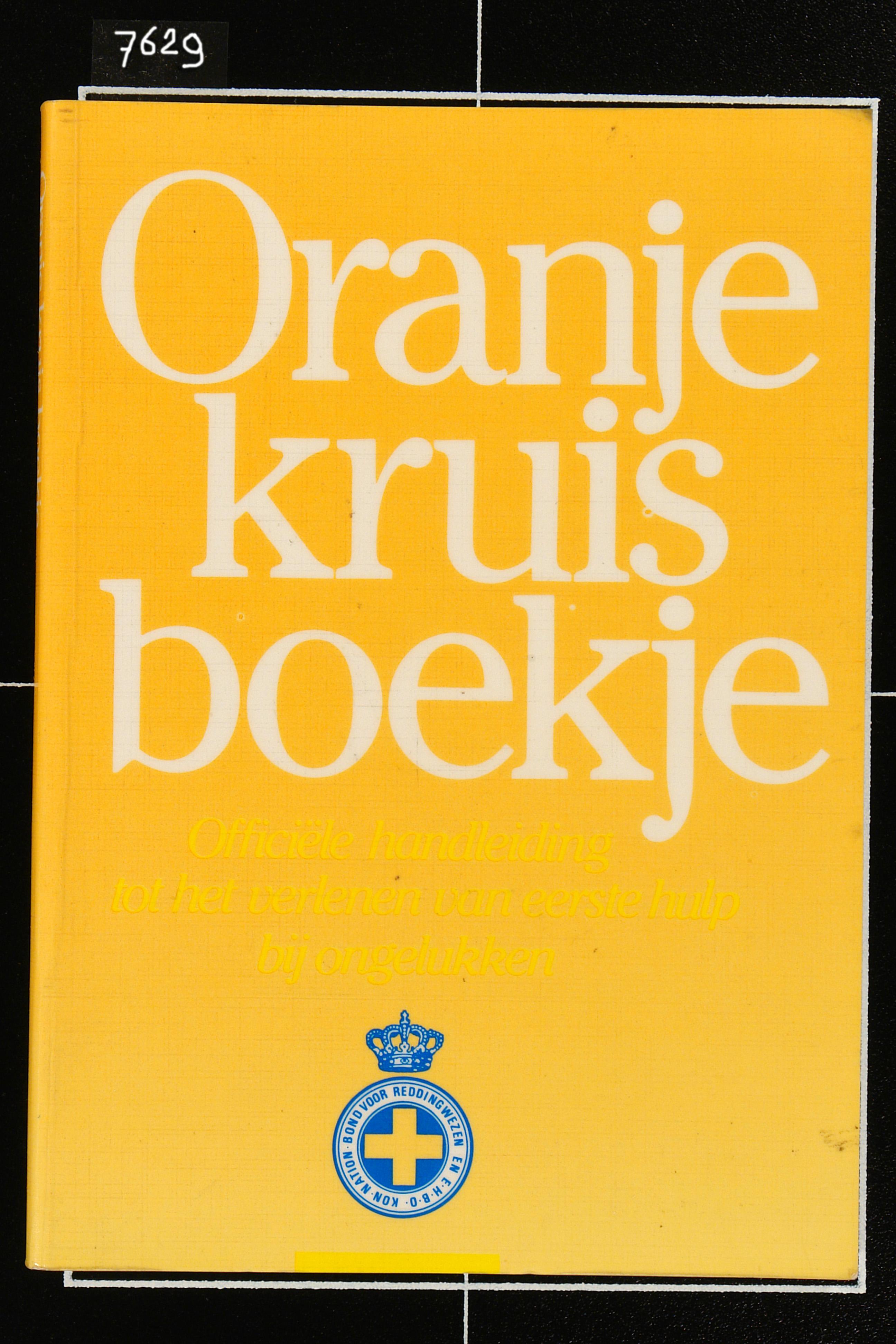 Boek. Oranje kruisboek, 1951