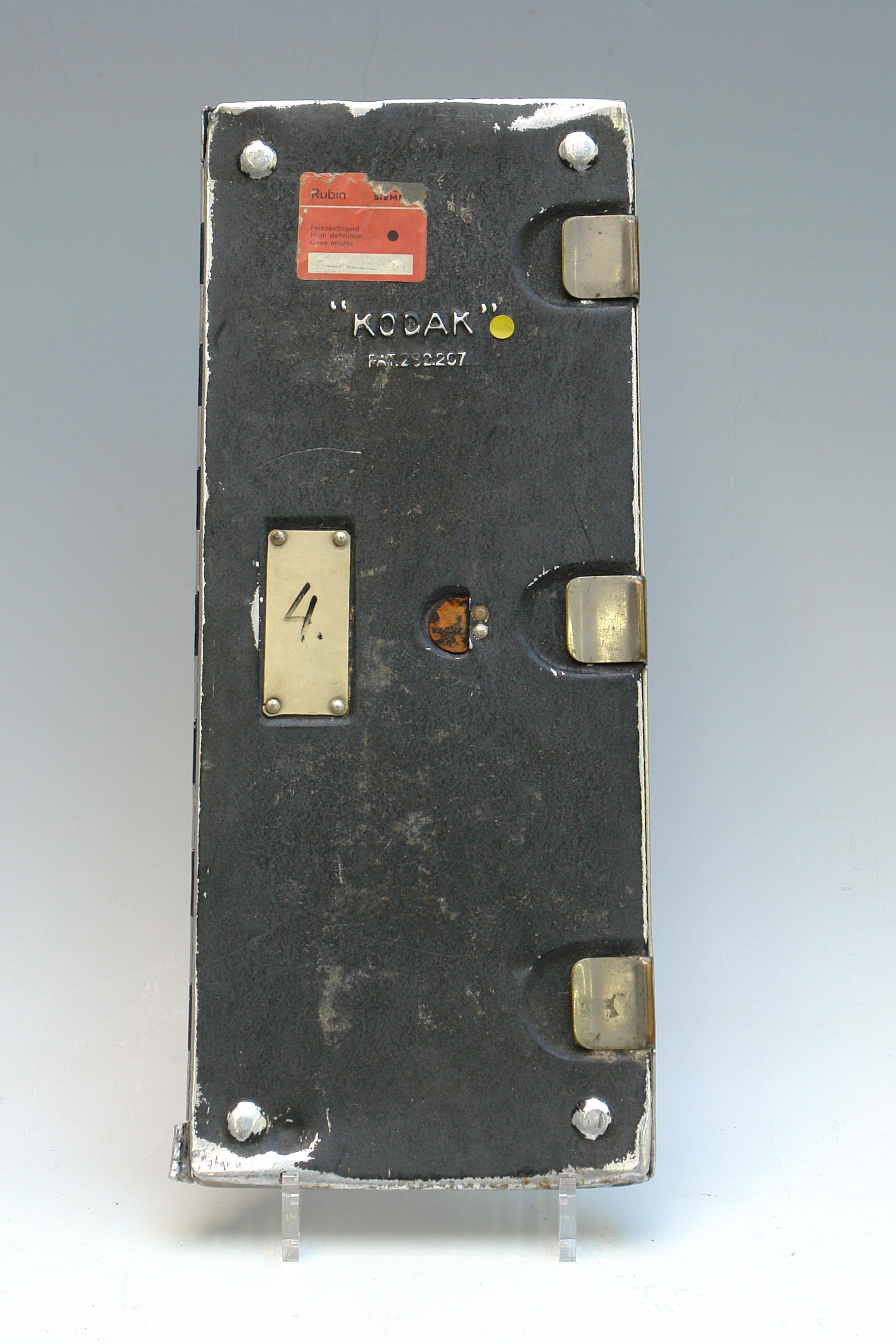 Röntgenplaat met scharnier, 1960-1990